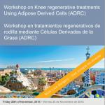 Workshop en tratamientos regenerativos de rodilla mediante Células Derivadas de la Grasa ADRC